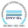 ISO 9001, ISO 14001 -logo